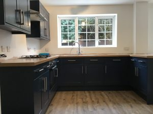 Hand Painted Kitchens in Islington