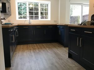 hand painted kitchens putney
