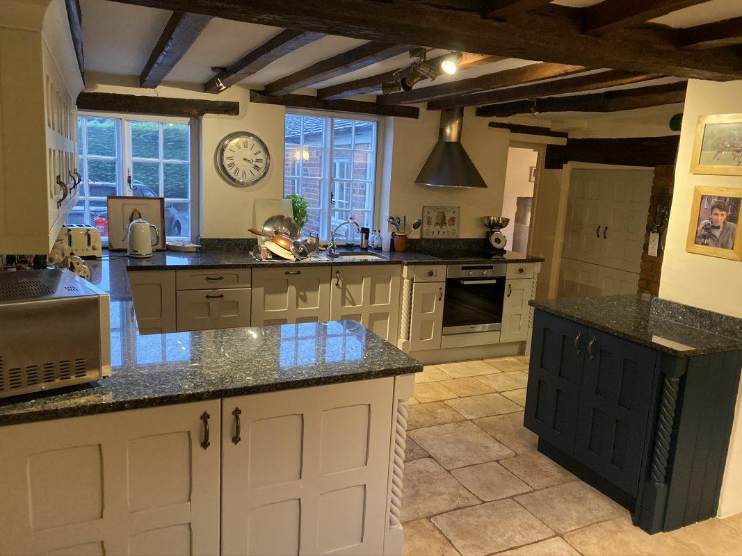 Hand Painted Kitchen Blackheath