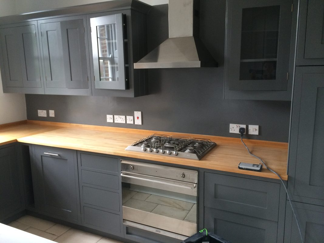 Hand Painted Kitchen Pimlico London