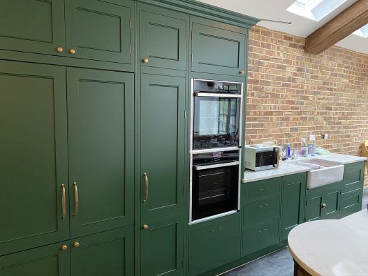 Hand Painted Kitchen Primrose Hill London